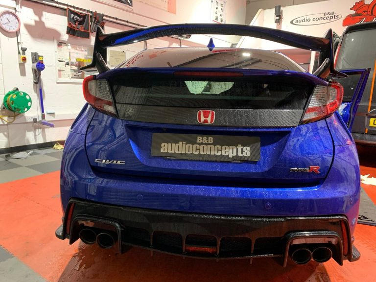 Honda Civic Type R Audio System Upgrade 841