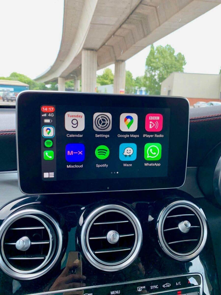 Mercedes GLC AMG Apple Carplay Upgrade 816 s 3 e1619798555829
