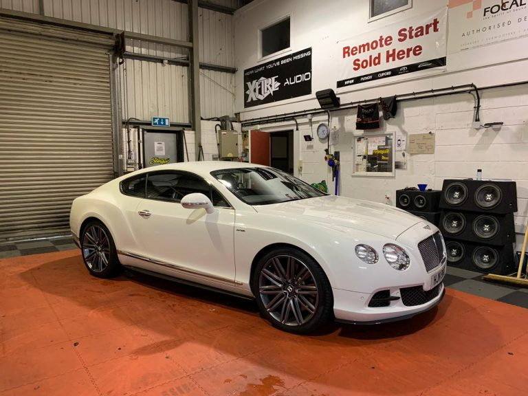 Reverse Camera Upgrade Bentley GT GTC SPUR 840