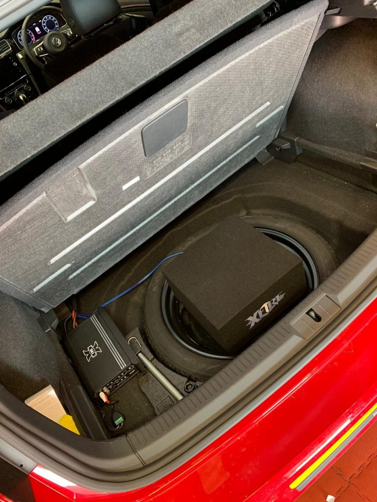 VW Golf GTI Audio and Security Upgrades 821 s 2