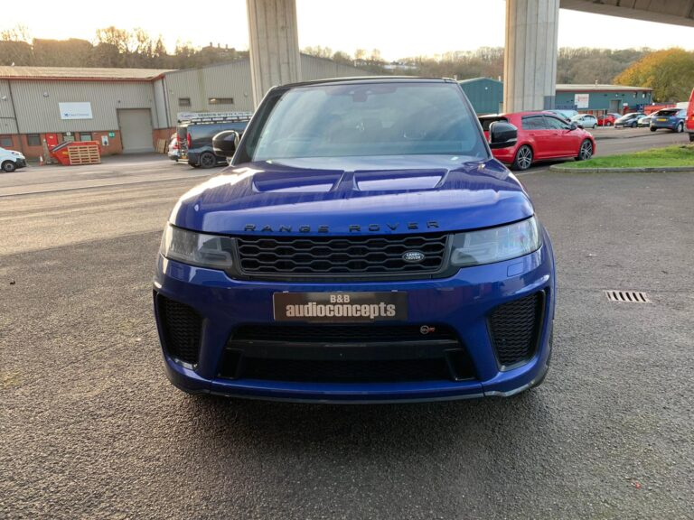 Range Rover SVR Keyless Theft Protection with Meta S5 at B&B Audioconcepts